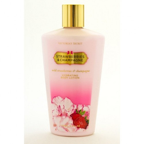 Victoria's Secret Body Lotion Strawberries & Champagne