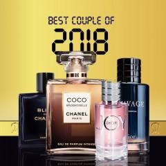 بهترین زوج های عطری سال 2018