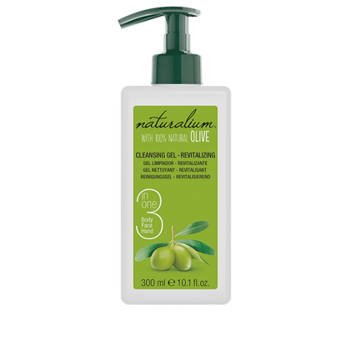Naturalium Cleansing Gel - Revitalizing 3 in 1 With Natural Olive